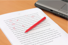I will proofread any article or document up to 1,500 words at a quick turn-around time for