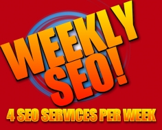 I will do  manually weekly seo services and get excellent result