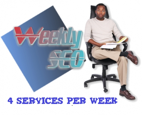 do  manually weekly seo services and get excellent result