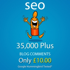 I will make 35,000 Plus SEO blog comment backlinks scrapebox linkjuice