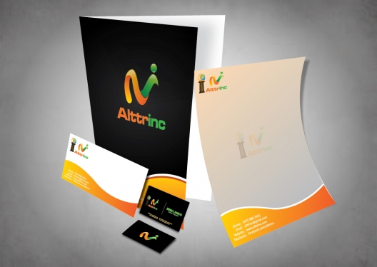 design a stationary pack for your business with 2 designs options