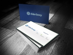 I will design a professional double sides business card with in one day