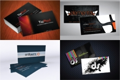I will Design OUTSTANDING Double Side Business Card With 3 Options