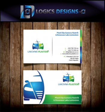 Design OUTSTANDING Double Side Business Card