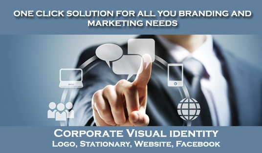 design a logo, stationery, business cards, website and facebook page for your business
