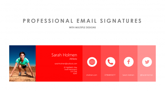 design an immaculate email signature for  u00a35   marmaris