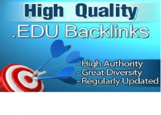 I will get 800 edu high quality SEO backlinks and rank higher with google Buy here