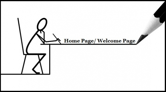 write an excellent Homepage content or Welcome Page content for your website