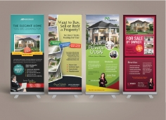I will Design Roll up Banner for you