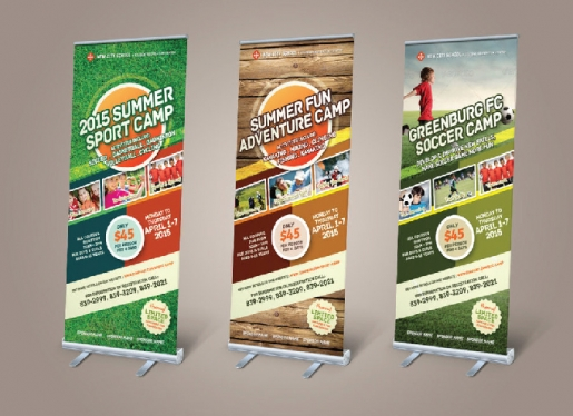 Design Roll up Banner for you