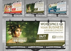 I will Design Professional Billboard