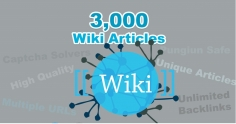 I will do 15000 Contextual Wiki Backlinks from 3000 articles to high rank your site on google