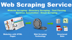 I will Web scraping/crawling/extraction of required data from any website or directory site