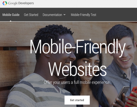 make your website mobile friendly, responsive for Google