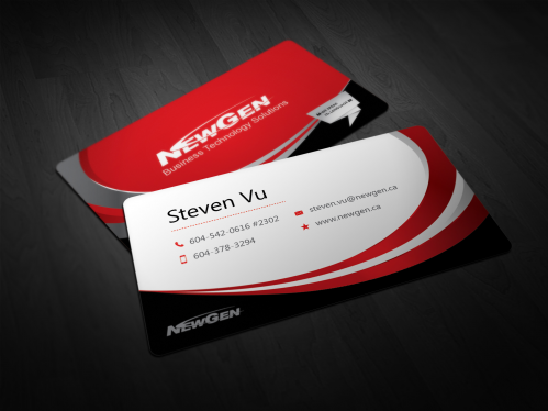 design dual side Business Card