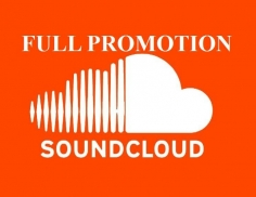 I will do Full SoundCloud Promotion
