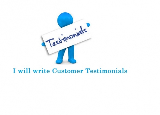 write a Customer Testimonial Script for your Website or YouTube Video