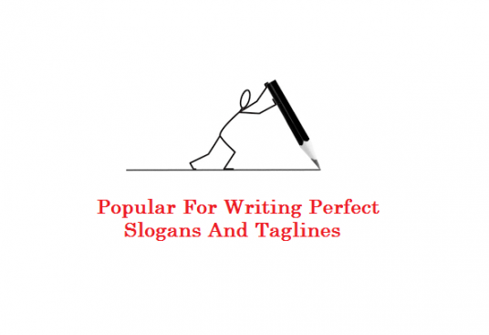 write a perfect slogan or tagline for your business, website, product or service