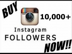 I will add 10,000+ Instagram followers to your instagram account within 24hours just