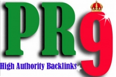 I will create manually PR9 Backlinks from 20 authority sites