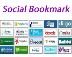 I will provide 40  best social bookmark for your valuable website or blog