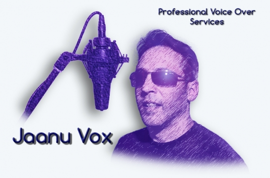 provide professional voice over services up to 100 words
