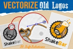 I will VECTORIZE your old Logo with in 24 hrs