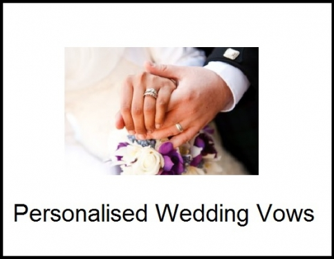 write amazing wedding vows for you