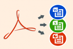 I will edit pdf files and/or convert to word, and other ms office files