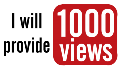 I will give Fast 1000 + High Retention YouTube Views just within 3 days