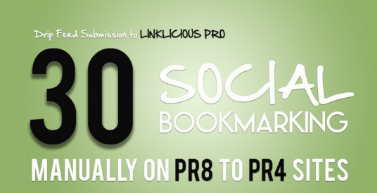 Give you Authority 30 PR8 to PR5 MANUAL Social Bookmarking