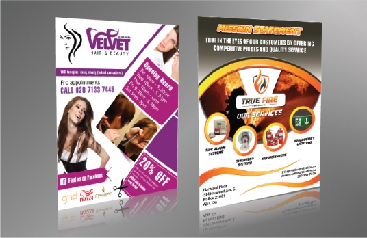 Professional Flyer and Brochure Design