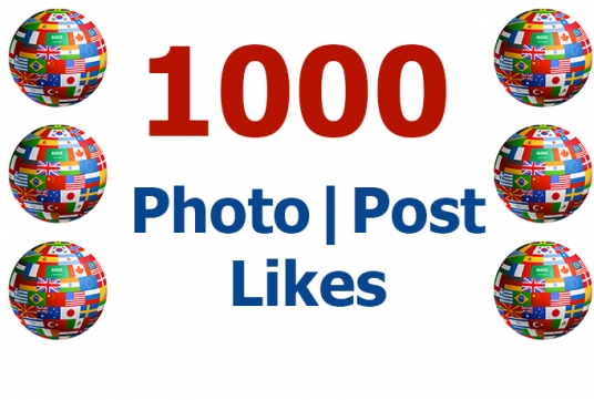 add 1000 Likes to your Photo or Post on Facebook