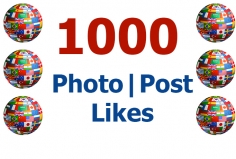 I will add 1000 Likes to your Photo or Post on Facebook
