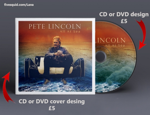 design a PROFESSIONAL Cd or Dvd Cover