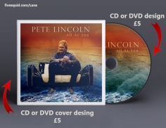 I will design a PROFESSIONAL Cd or Dvd Cover