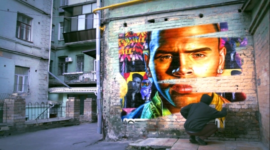 create this Stunning Real Graffiti Style Spray Paint Video for your Business