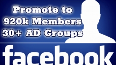 I will promote your Business, Product or Website to 30+ Advertising/Marketing FB groups having 92