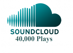 I will give you 40,000 SoundCloud Plays