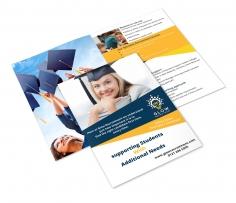 I will design a good looking brochure for your Business