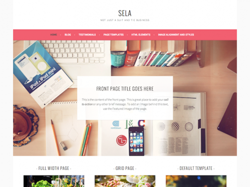 create an eye-catching and fully responsive WordPress website