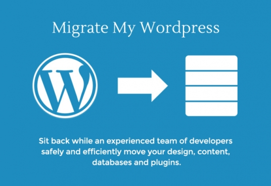 do WordPress website migration, cloning to new web hosting or domain