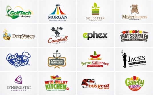 design TWO Logos as a Recognized, Award Winning Logo Designer