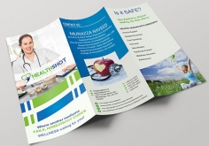I will create attractive & professional looking Bifold & trifold flyer,Brochure d