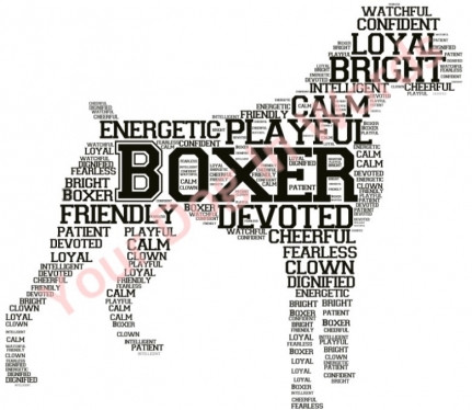 Make you a personalised word art print in the form of a dog uk cccccc make you a personalised word art print in the form of a dog gumiabroncs Images