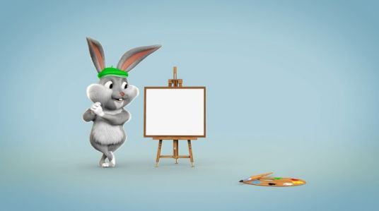 make cute bunny paint everything you want