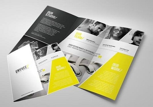 I will do nice brochure or flyer  design