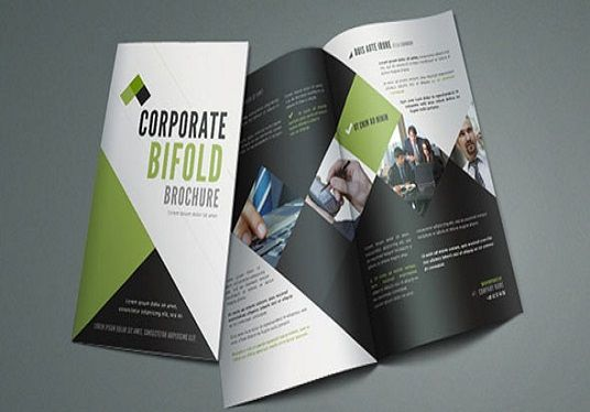 do nice brochure or flyer  design
