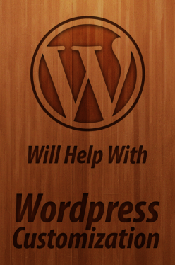edit and customize your Wordpress website