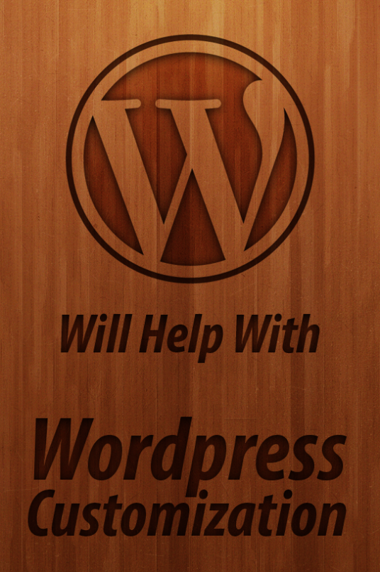I will edit and customize your Wordpress website